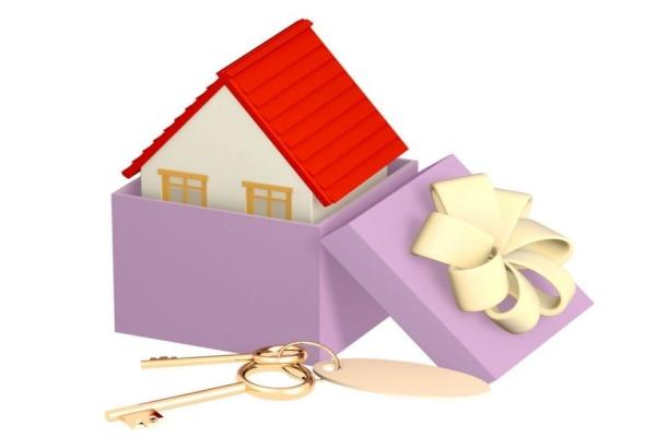 дарение недвижимости налог