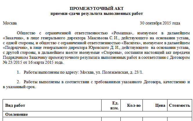 Промежуточный акт в создании сайта создание сайтов на wordpress в минске